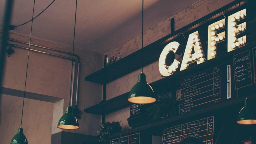 Hipster-Café
