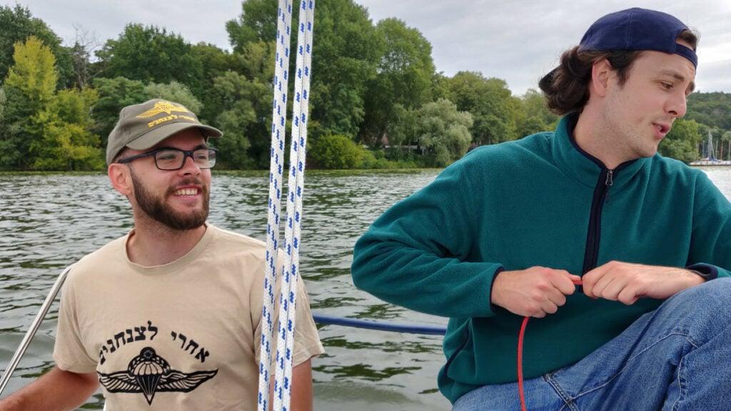 Die Zwillinge Erik und Adrian.